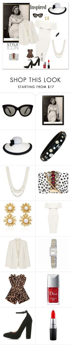 """""""""""LIFE"""" MAGAZINE: MARILYN MONROE/ THE 50's SIREN #SEXYWITHNOEFFORT #ONEANDONLY"""" by g-vah-styles ❤ liked on Polyvore featuring Victoria Beckham, Nine West, Chanel, Anne Klein, GEDEBE, Oscar de la Renta, WearAll, Vanessa Bruno, Seiko Watches and AGNELLE"""