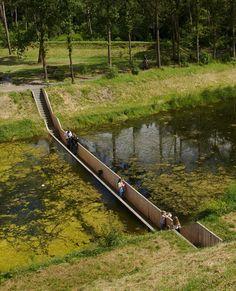 Moses Bridge Stairs, Netherlands