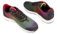 Gourmet Footwear Libero Black Rainbow / White