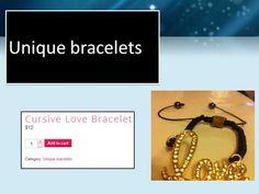 Dazzling mode charms bracelet