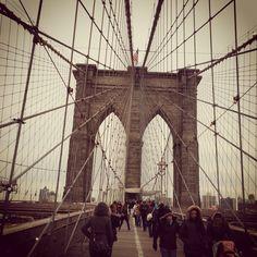 #brooklinbridege April, New York