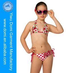 2014 Newest hot sale young girl bikini photos little girls modeling children swimwear $3~$5