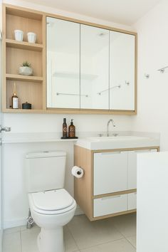 Don't make an effort to fit in each individual thing which you believe a bathroom should have. Hanging shower curtains to earn small bathroom appear b. Cabinet Remodel Diy, Trendy Bathroom, Minimalist Bathroom Design, Small Bathroom Decor, Small Bathroom, Remodel Diy Budget, Small Remodel, Bathroom Design, Bathroom Decor