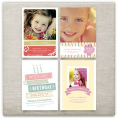 'happy birthday, little lady', on Minted.com