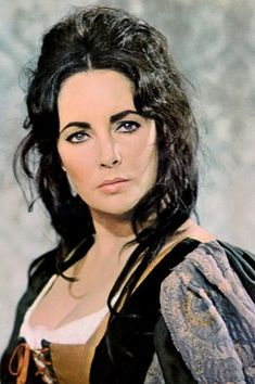 Elizabeth Taylor in Taming of the Shrew. Are you aware that Taylor and Burton produced this film themselves and earned over 10million USD. Clever. With regards to film versions of Shakespeare this is one of the best. I adore their version of it as it sticks to the script.