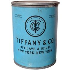 Tiffany & Co. - 1920's - Original Shipping Barrel