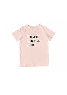 A single color ink printed on a youth unisex tee. 100% cotton. These shirts are available in blush + black and white + black combinations. Made in the USA. Please note that all items are currently listed for pre-sale. Due to current production times, these items will be shipped in 2 – 3 wee