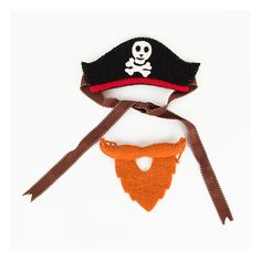 A little pirate costume set, including a hat and a beard, for dressing up as a real life little pirate! Pirate Birthday, Hats, Jack Sparrow, Nouvel An, Carnival, Sleepover Party, Hat, Captain Jack Sparrow, Hipster Hat