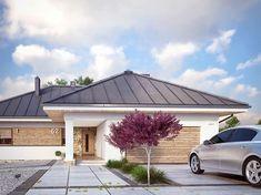 Ambrozja 8 (138,15 m2) to nowy projekt parterowy. Pełna prezentacja projektu dostępna jest na stronie: https://www.domywstylu.pl/projekt-domu-ambrozja_8.php. #ambrozja #projekty #projekt #gotowe #typowe #domy #domywstylu #mtmstyl #home #houses #architektura #interiors #insides #wnętrza #aranżacje