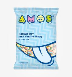 Amos on Packaging of the World - Creative Package Design Gallery Popcorn Packaging, Packaging Snack, Cd Packaging, Pretty Packaging, Packaging Ideas, Corporate Design, Branding Design, Printing On Tissue Paper, Icon Package