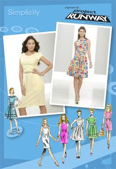 02172cf489c Simplicity 2588 Misses and Miss Petite Dresses Project Runway Collection