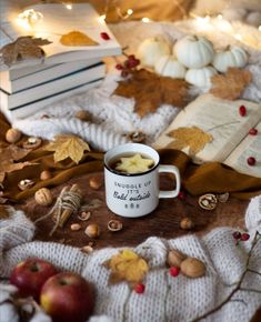 Samhain, Mabon, Autumn Tea, Autumn Cozy, Flat Lay Photography, Book Photography, Halloween Books, Fall Halloween, Fall Pictures