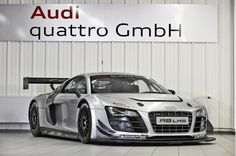 2012 Audi R8 LMS. If I could race any car in the world, this would be it.