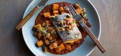 I'm cooking Rainbow Trout Veracruz with Green Chef https://greenchef.com/recipes/paleo-veracruz-rainbow-trout-with-patatas-bravas