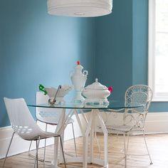 Esszimmer Wohnideen Möbel Dekoration Decoration Living Idea Interiors home dining room - Weiße Akzente