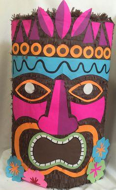 Large Tiki Pinata 24 Tall by Theperfectpinata on Etsy