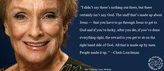 Atheism - Cloris Leachman
