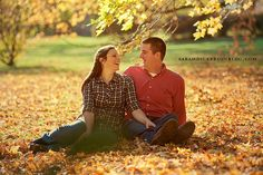 Loose Park engagement session by SarahDickersonPhoto, via Flickr