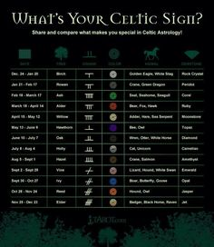 What's your Celtic sign?