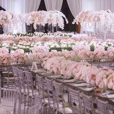 A sea of love Event Design by Sunny Ravanbach, White Lilac, Inc. #whitelilacinc