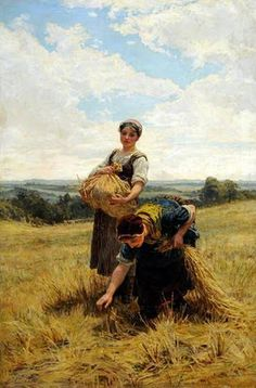 Frederick Morgan - Gleaners 1880