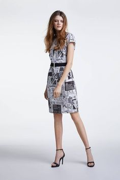 Short Sleeve Dresses, Dresses With Sleeves, Fashion, Moda, La Mode, Gowns With Sleeves, Fasion, Fashion Models, Trendy Fashion