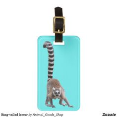 Ring-tailed lemur トラベルバッグ用名前タグ