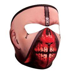 Zanheadgear Zipper Face Neoprene Full Face Mask