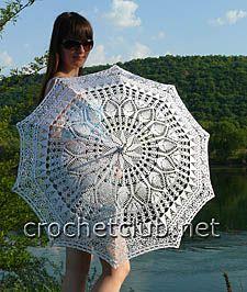 Stunning umbrella with diagram