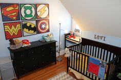 justice league home decor | Justice-League-Nursery-Theme