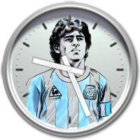 Gadget Orologio Diego Armando Maradona Sidebar Windows
