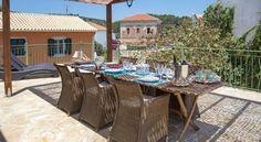 Villa Avra  sleeps up to 7 people For more info & pictures visit paxossunandsea.com/villa-avra/