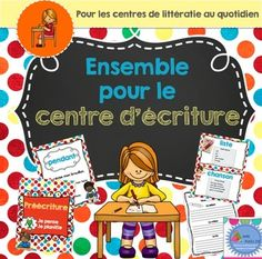Browse over 440 educational resources created by Madame Emilie French resources in the official Teachers Pay Teachers store. French Teaching Resources, Teaching Activities, Teaching French, Writing Lessons, Teaching Writing, Teaching Tools, Kindergarten Literacy, Literacy Centers, Daily 5 Centers
