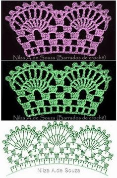 Skirt Lace Diy Free Pattern 40 Ideas For 2019 Crochet Bedspread Pattern, Crochet Blanket Edging, Crochet Edging Patterns, Crochet Lace Edging, Crochet Diagram, Crochet Afghans, Filet Crochet, Crochet Doilies, Crochet Stitches