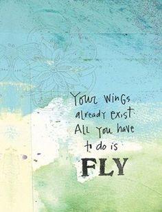 Spread your wings and fly! #ShareInFaith www.shareinfaith.com