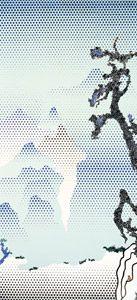 Roy Lichtenstein - Landscape with Philosopher [Paysage avec philosophe], 1996