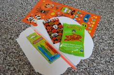 Halloween Trick-or-Treats for Daycare or School. DIY treats for kids