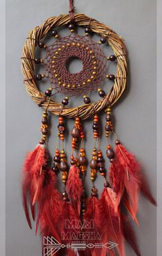 Dream Catcher Mandala, Dream Catcher Decor, Homemade Dream Catchers, Beautiful Dream Catchers, Craft Projects, Projects To Try, Willow Weaving, All Craft, Dreamcatchers