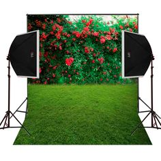 Aliexpress.com : Buy grass lawn roses blossoms background for wedding photos camera studio photography props digital cloth vinyl backdrops photos from Reliable vinyl backdrop suppliers on forest village background Store