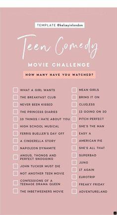 Netflix Movies To Watch List 2019 Action Netflix Movies To Watch, Movie To Watch List, Good Movies On Netflix, Good Movies To Watch, Shows On Netflix, Netflix Hacks, Netflix Tv, Movies For Teenage Girls, Teen Movies