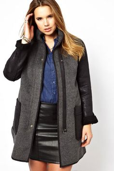 plus size fashions for winter 2013 | Plus-Size Fashion / Plus Size Winter Coats 2013 - Jackets For Curvy ...