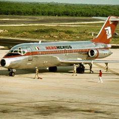 Aero Mexico DC-9-10.