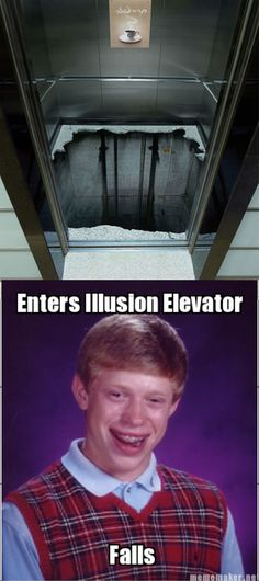 This is why I hate elevators! Shit like this is not, I repeat, N O T funny. At all. To anyone. Including me