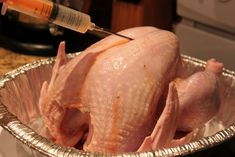 How to Deep Fry A Turkey with Herb Flavored Injection Recipe Turkey Injection Marinade, Injection Recipe, 12 Pound Turkey, Turkey Fryer, Fresh Turkey, Peanut Oil, Italian Style, Recipe Using, Main Dishes