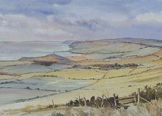 Oliver Pyle Fine Art, watercolour paintings, landscape paintings | autumn
