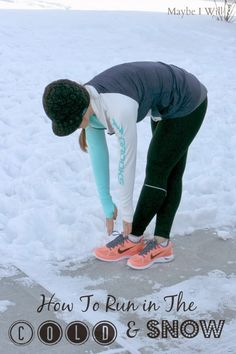 How To Run in The Cold & Snowy Weather!!! #coldweatherrunning #running #fitness {www.maybeiwill.com}