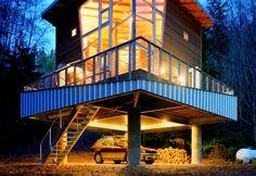 Castanes Architecture designed cabin