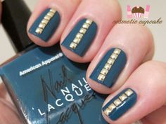 Nails-With-Golden-Designs-30