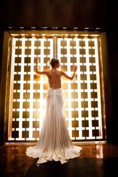 Modern Metallic Washington DC Wedding Bride Portrait 275x413 Best of 2011 Real Weddings: Most Romantic