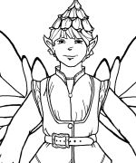 Talin Coloring Page **LOTS** of free fairy coloring sheets
